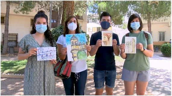 Entregados los premios del concurso de dibujo en la calle organizado por CELDA 19 en colaboración con la Concejalía de Juventud de Villarrobledo.