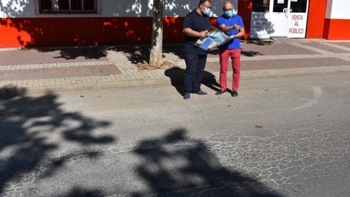 La Concejalía de Obras realiza labores de bacheado en numerosas calles de Villarrobledo