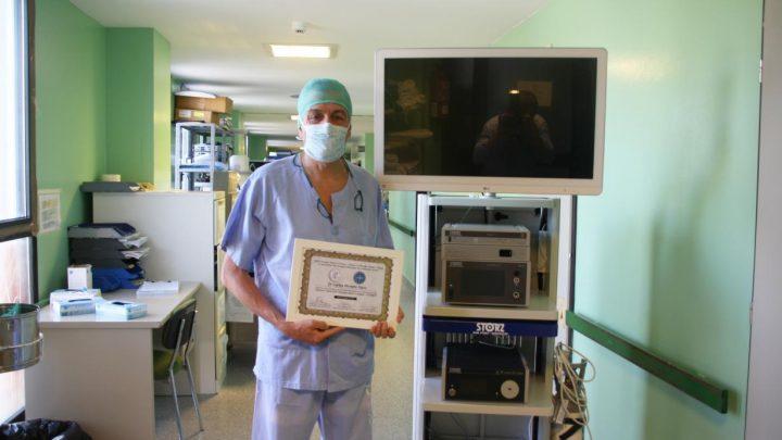 El jefe del Servicio de Cirugía del Mancha Centro, primer español Miembro Honorario del Fellow Europeo de Cirugía Mínimamente Invasiva