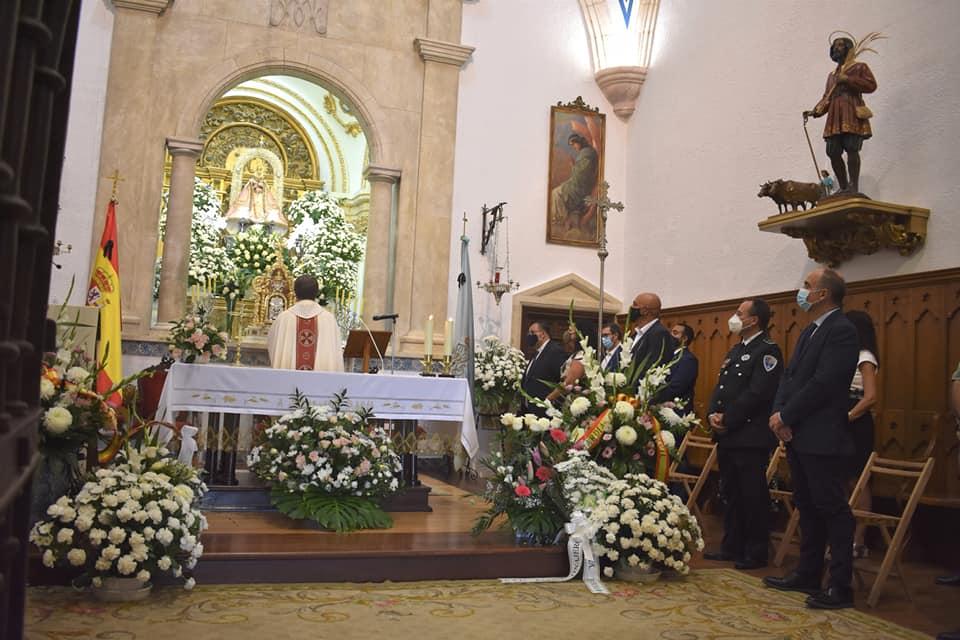 Celebración del Dulce Nombre en la localidad de Villarrobledo marcado por la pandemia.