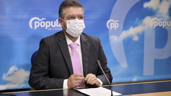 """Moreno lamenta que Page se refugie """"en su mundo burbuja"""" intentando separar su imagen de la """"nefasta"""" gestión sanitaria en Castilla-La Mancha"""