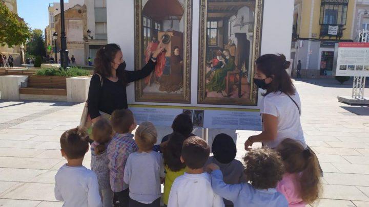 La exposición de 'El Prado en las calles' en Castilla-La Mancha ofrece una gran oportunidad didáctica para los jóvenes de la región