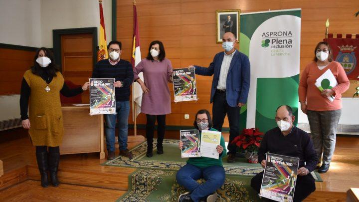 El Alcalde de Villarrobledo y Asprona invitan a participar en su primer reto Virtual solidario para la eliminación de la brecha digital entre las personas con discapcidad.
