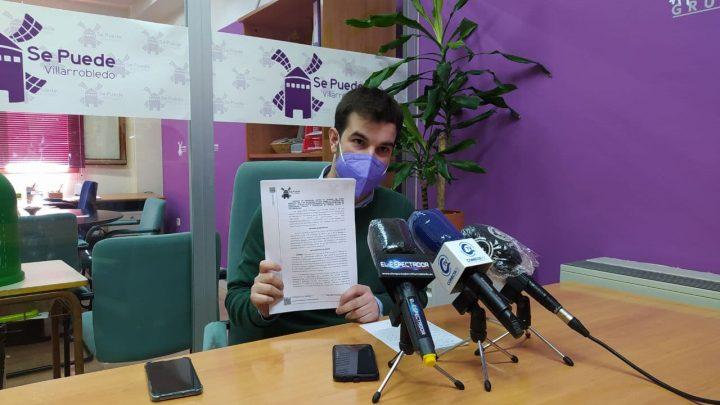 Se Puede Villarrobledo denuncia el contrato de la Zona Azul por presuntas irregularidades.