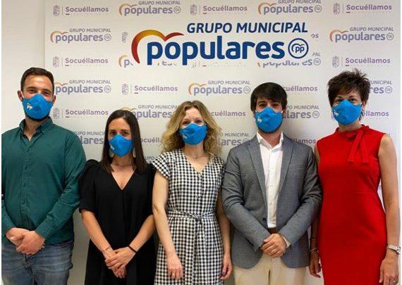 Saluda del Grupo Municipal Popular en el Ayuntamiento de Socuéllamos.