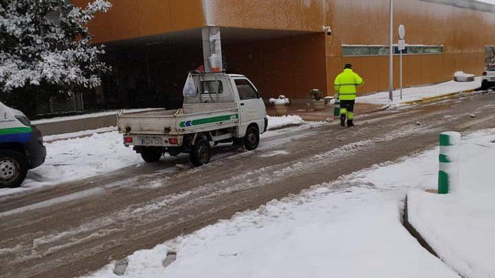 El Gobierno Municipal destaca el importante dispositivo de emergencia desplegado ante el temporal Filomena en Villarrobledo.