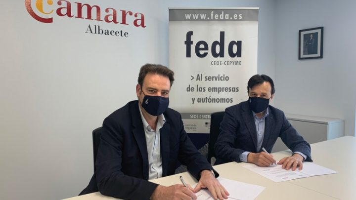 FEDA Y CÁMARA DE COMERCIO DE ALBACETE AFIANZAN SU COLABORACIÓN PARA EL DESARROLLO EMPRESARIAL DE LA PROVINCIA
