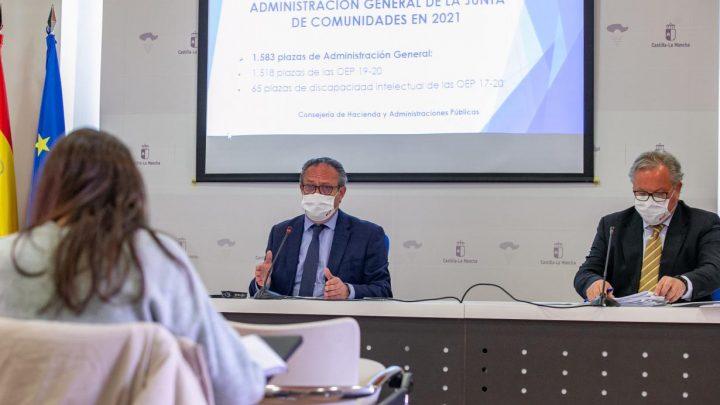 El Gobierno regional convoca 1.583 plazas de Administración General, que mejorarán la calidad de los servicios públicos
