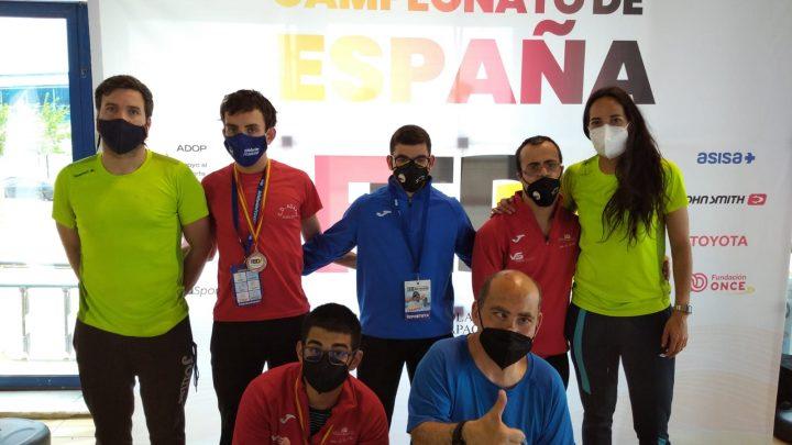 El Club Deportivo San Ginés y Adapei consigue 7 medallas en el Campeonato de España de Natación FEDDI 2021