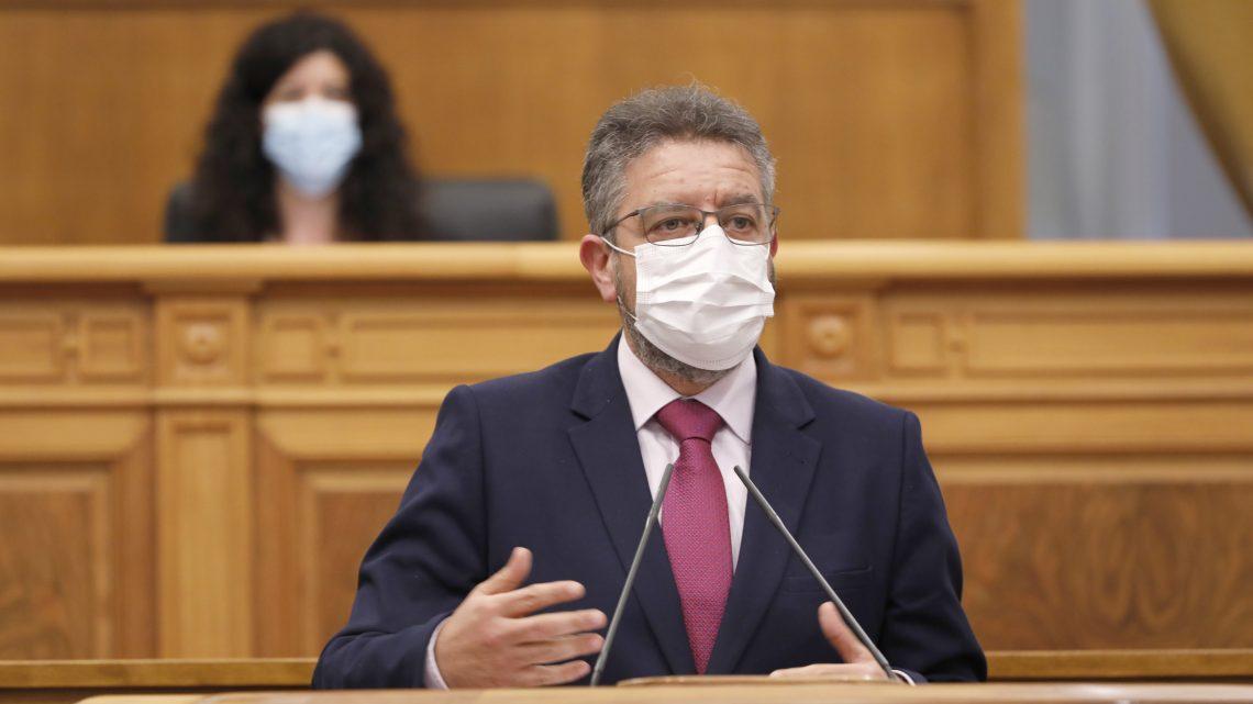 """Moreno se congratula de que Page rectifique y respalde las iniciativas de Paco Núñez para proteger la actividad deportiva como """"esencial"""""""