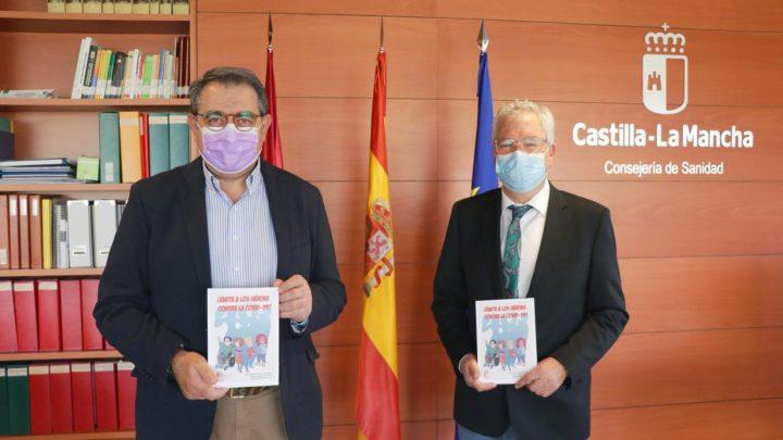 El consejero de Sanidad felicita la iniciativa de profesionales sanitarios de concienciar sobre el COVID-19 a los más pequeños a través de un libro comic