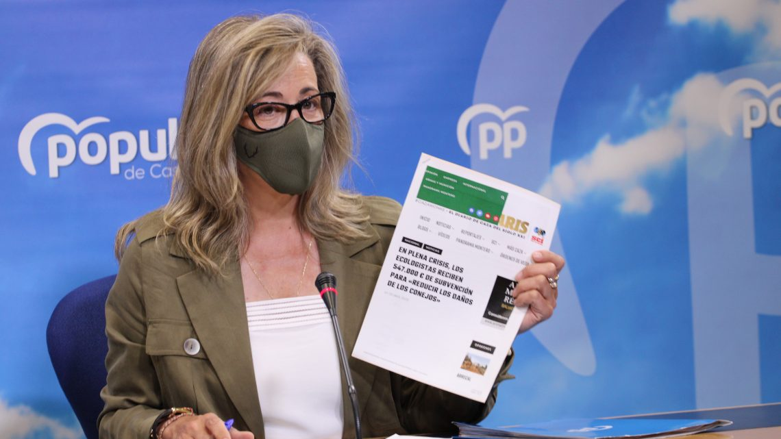"""Merino: """"Page niega ayudas a los agricultores para paliar los daños en sus cultivos, pero sí hay dinero para conceder 547.000 euros a los ecologistas para que realicen un estudio sobre el conejo en CLM"""""""