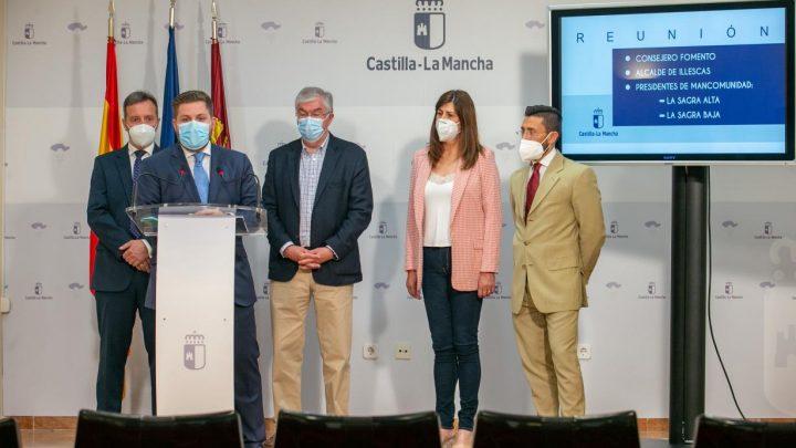 El Gobierno regional elaborará un estudio de movilidad de la comarca toledana de La Sagra con una población cercana a los 200.000 habitantes