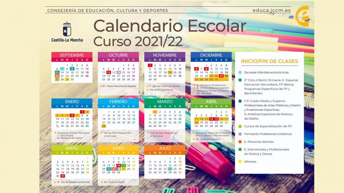 El Gobierno regional aprueba el calendario escolar definitivo para el curso 2021-22