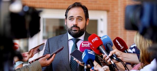 """Núñez pide a Page que sea `menos frívolo, menos, demagogo y más realista´:"""" Si hoy tenemos una Ley que ataca la Educación es gracias a los votos del PSOE de Castilla-La Mancha"""""""