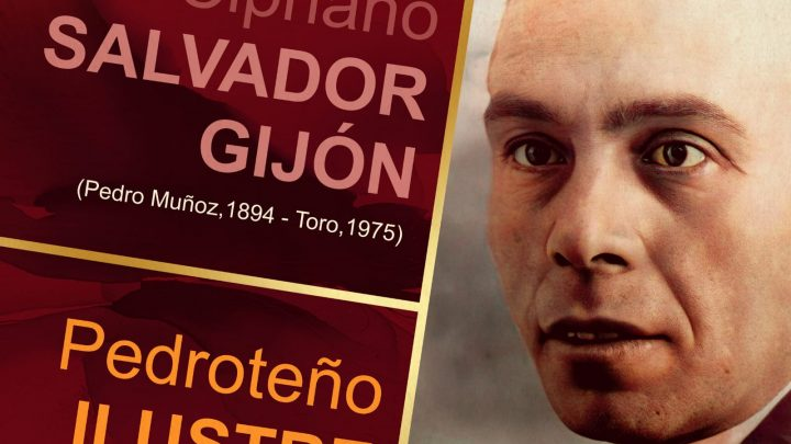 El maestro, pintor y escritor D. Domingo Cipriano Salvador Gijón ha sido reconocido como Pedroteño ilustre por una vida dedicada a La Mancha, y su compromiso con el desarrollo de nuestra Comarca.